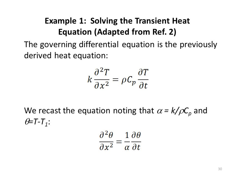 Introduction to Numerical Methods in Heat Transfer - ppt
