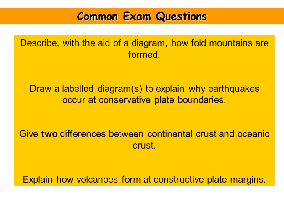 Features Of Plate Boundaries Ppt Download