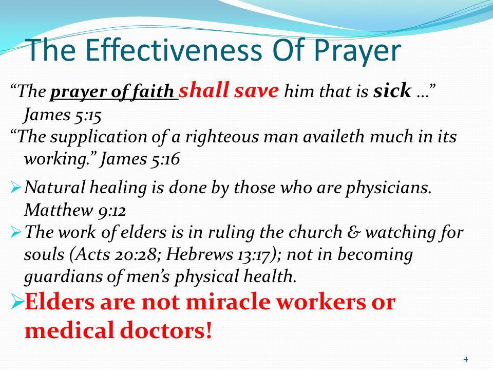 8/16/2015 am The Prayer Of Faith Part 2 James 5:13-18 Micky Galloway