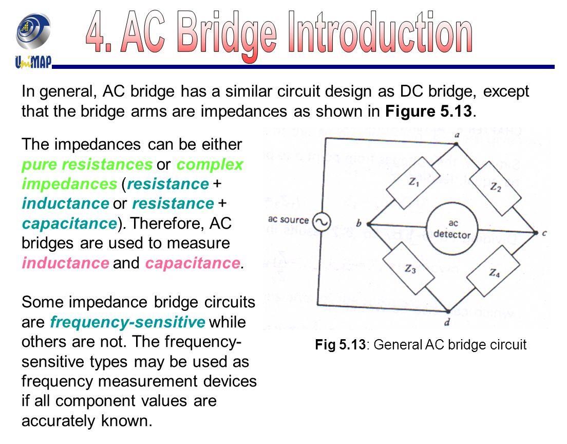 Chapter 5 Dc And Ac Bridges Ppt Video Online Download How An Inductor Can Work In A Circuit This Figure Is Helpful 27 4