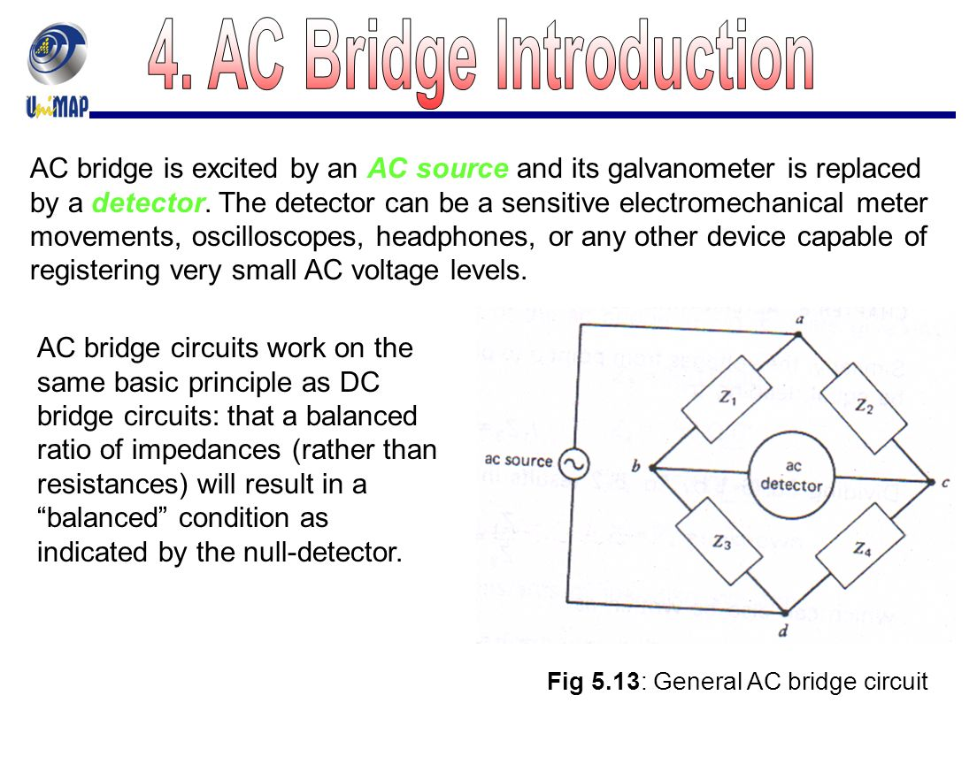 Chapter 5 Dc And Ac Bridges Ppt Video Online Download Free Circuit Series 10 29 4