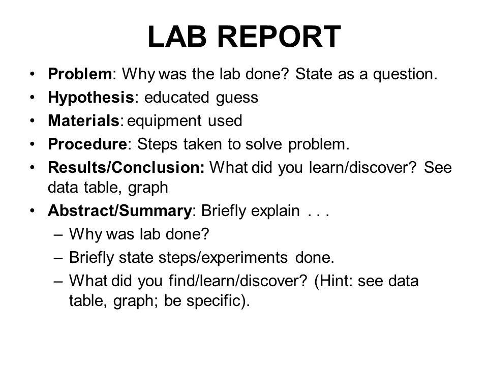 2 lab