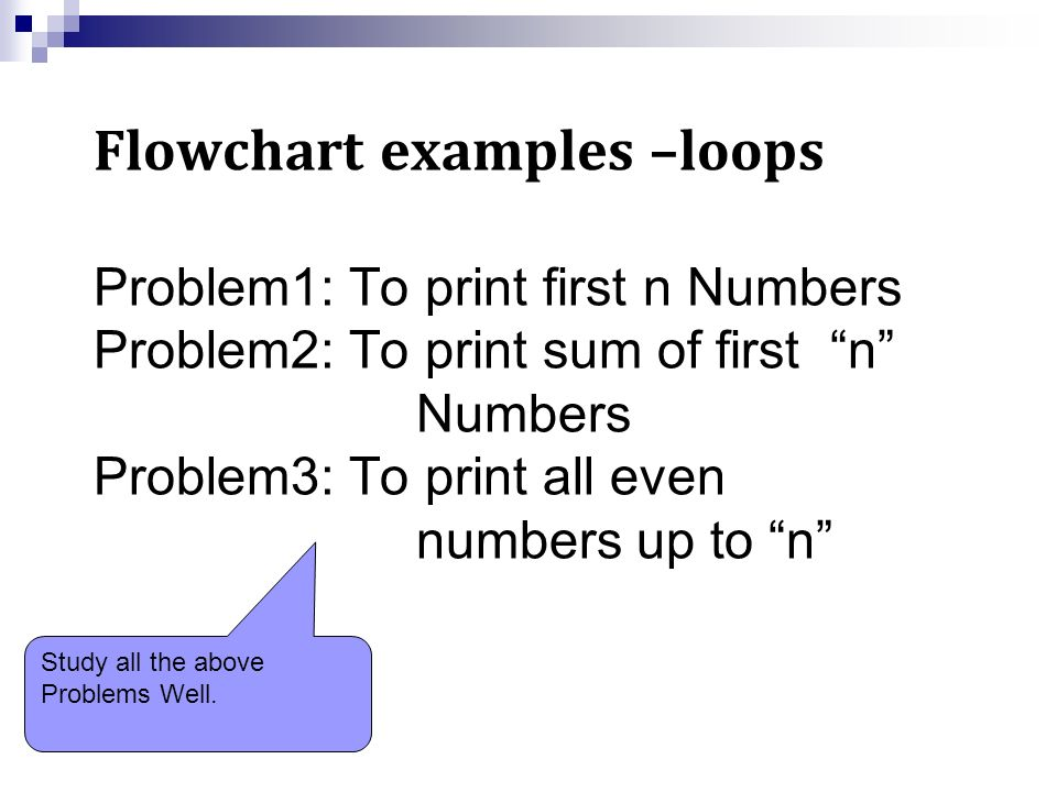 Algorithm & Flow Charts Decision Making and Looping - ppt video
