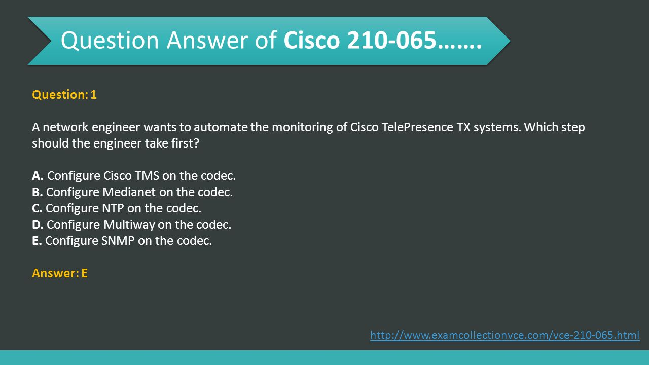 Implementing Cisco Video Network Devices (CIVND) - ppt download