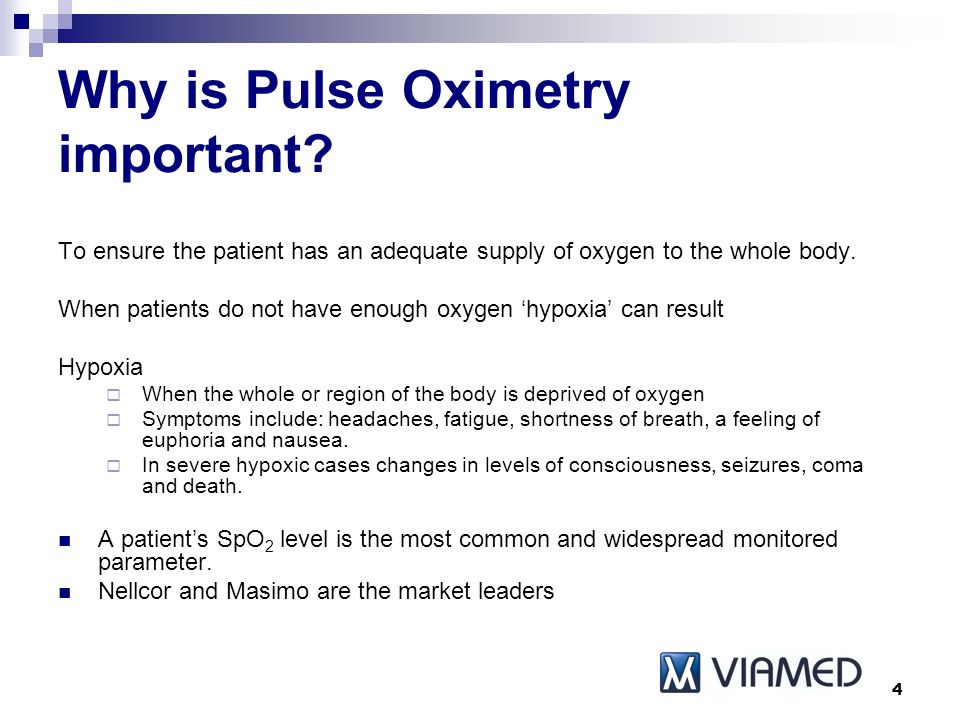 Pulse Oximetry Product Presentation - ppt video online download