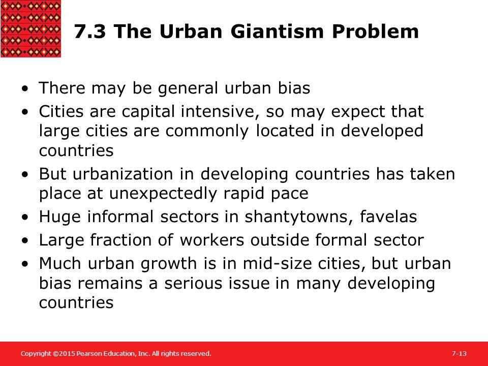 causes of urban giantism