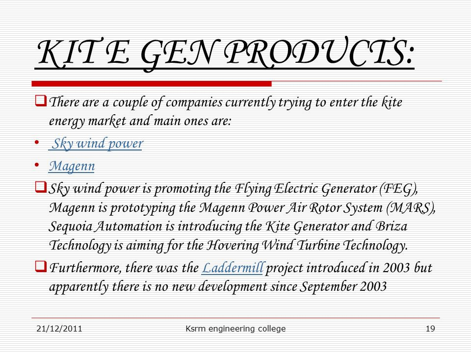 NEW CONCEPT OF WIND POWER GENERATION - ppt video online download