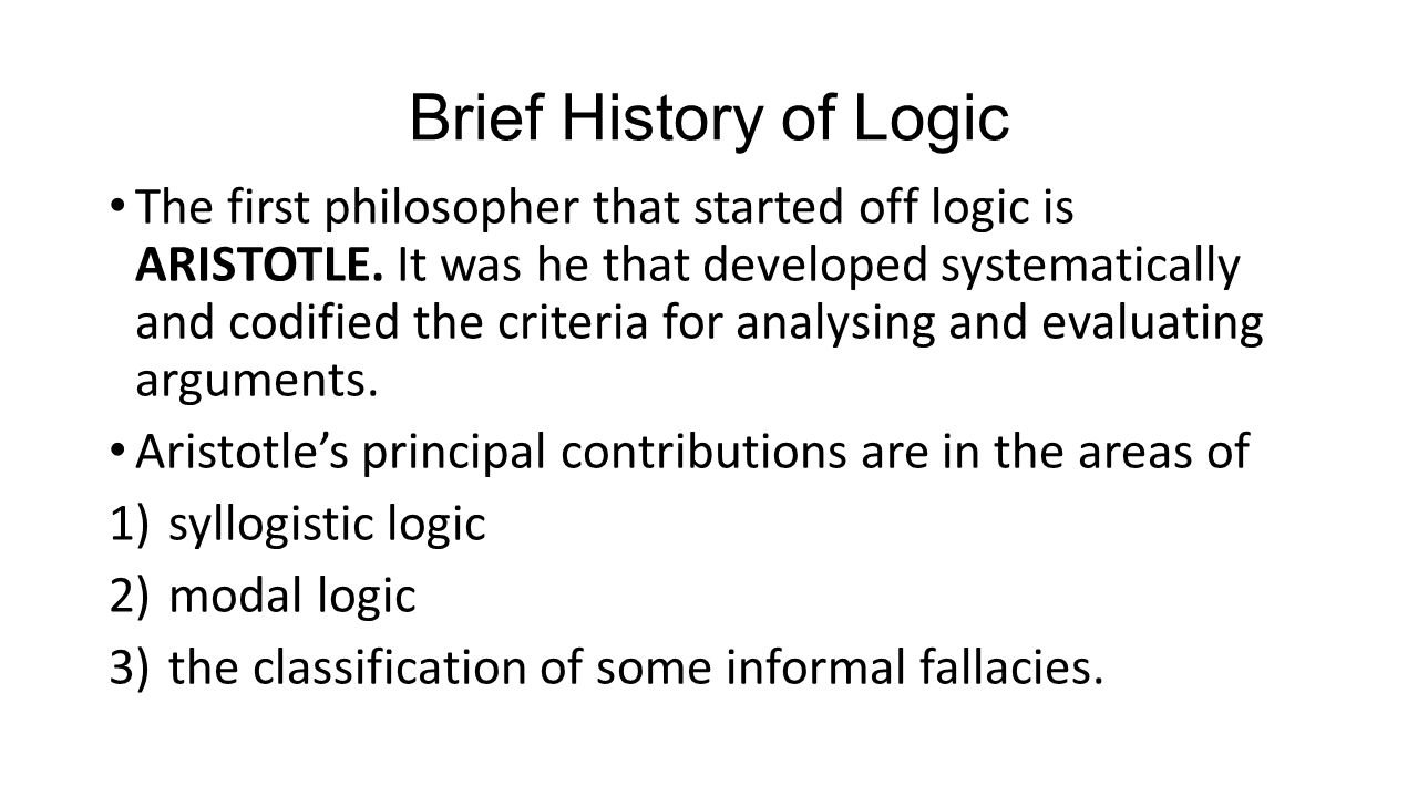 Gst 113 Logic Philosophy And Human Existece Ppt Video Online