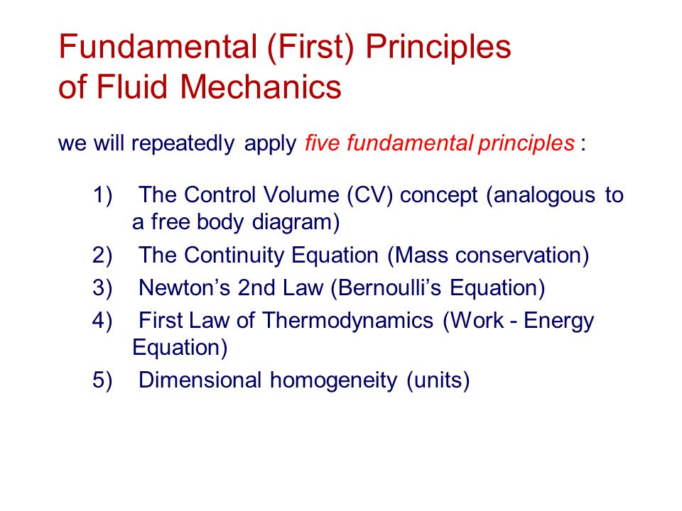 By Photo Congress || Laws Of Fluid Mechanics Ppt