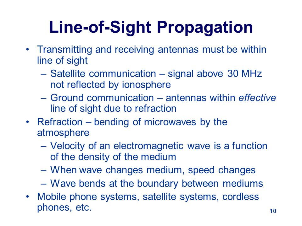 Signal Propagation Basics - ppt video online download