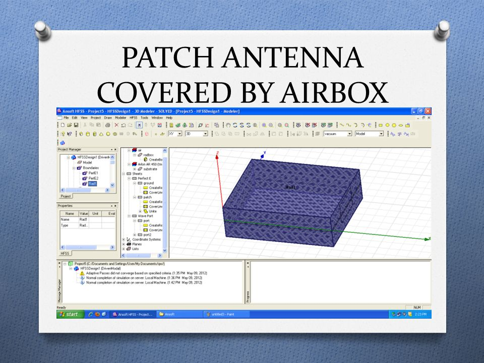 Study & Design of Micro-strip Patch Antenna - ppt video