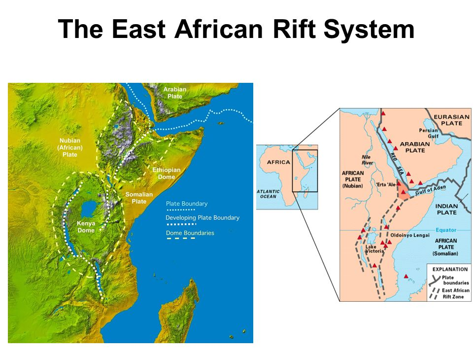East Africa S Great Rift Valley A Complex Rift System Ppt