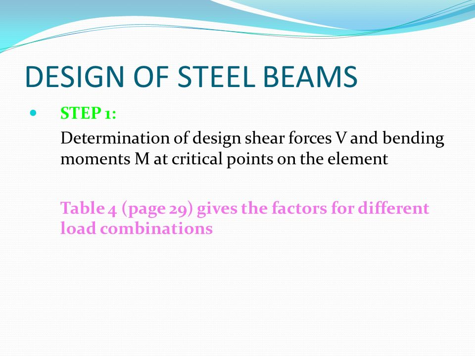 Design of Laterally Restrained Beams - ppt video online download