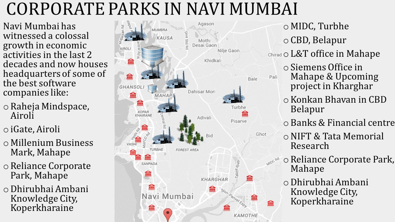 NAVI MUMBAI – LARGEST PLANNED CITY IN THE WORLD - ppt video