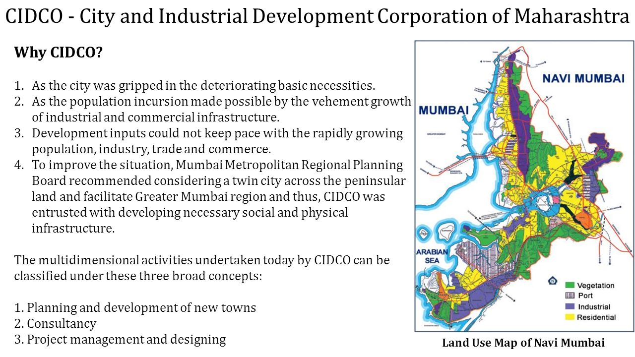 NAVI MUMBAI – LARGEST PLANNED CITY IN THE WORLD - ppt video online