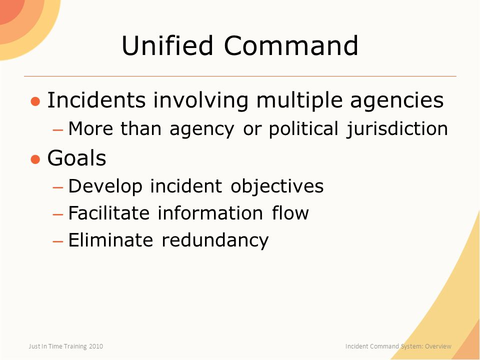 how multiple incidents develop the plot The national incident management system is a structure for management large-scale or multi-jurisdictional incidents it is being phased in at the federal, state and local levels.