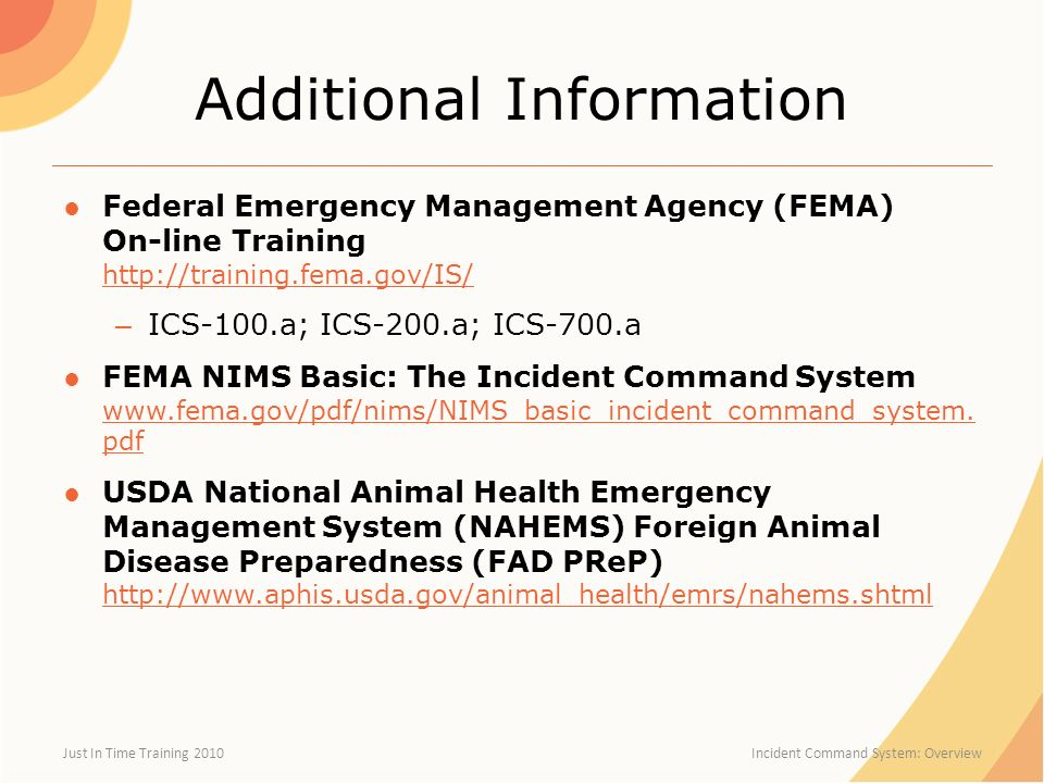 Incident Command System Ppt Video Online Download