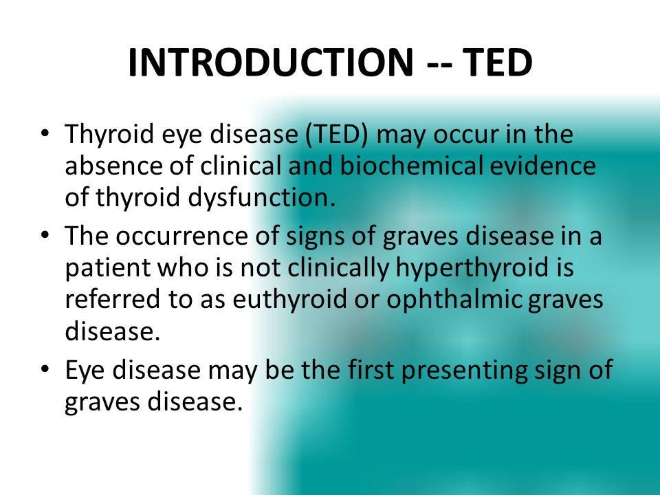 Thyroid eye disease.
