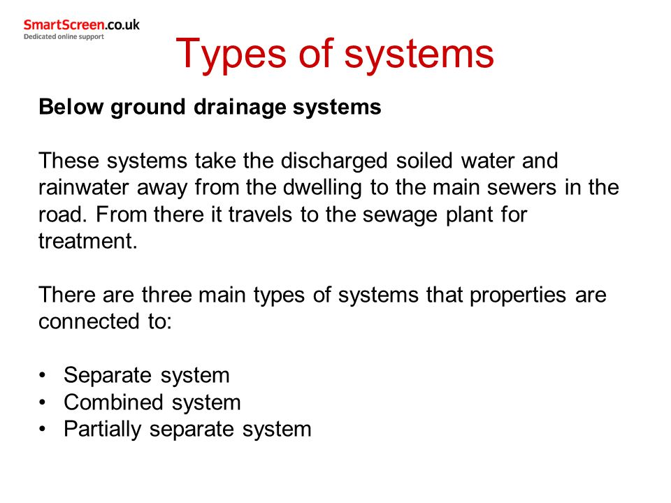 Unit 209: Drainage systems - ppt video online download