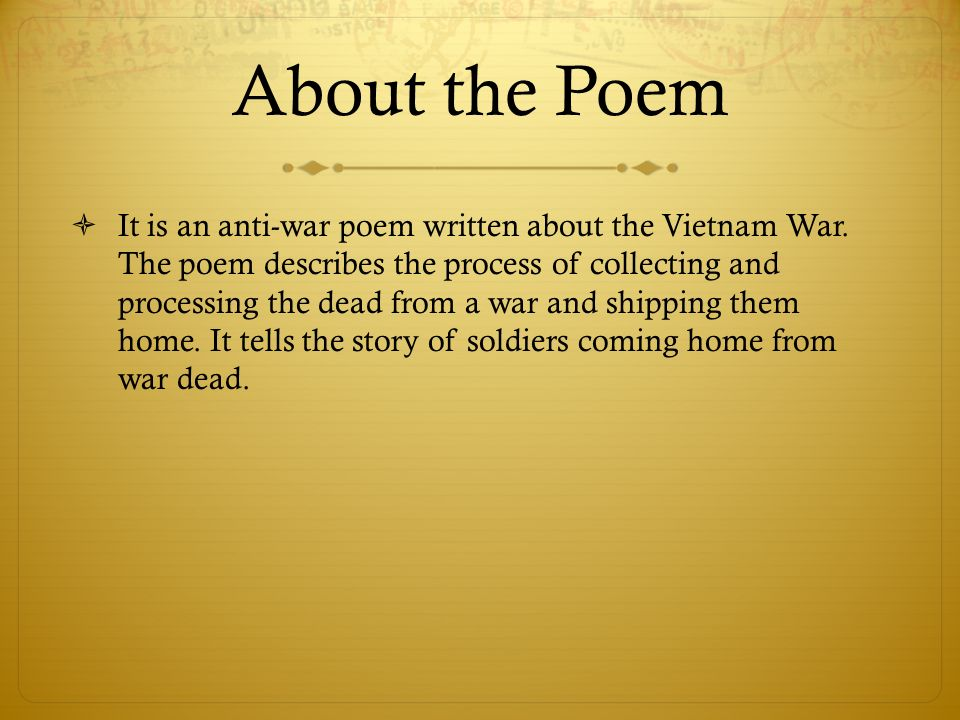 bruce dawe poetry A poem about australian soldiers coming home from the vietnam war, written by bruce dawe in 1968 homecoming is featured in the macmillan anthology of australian literature alongside other great.