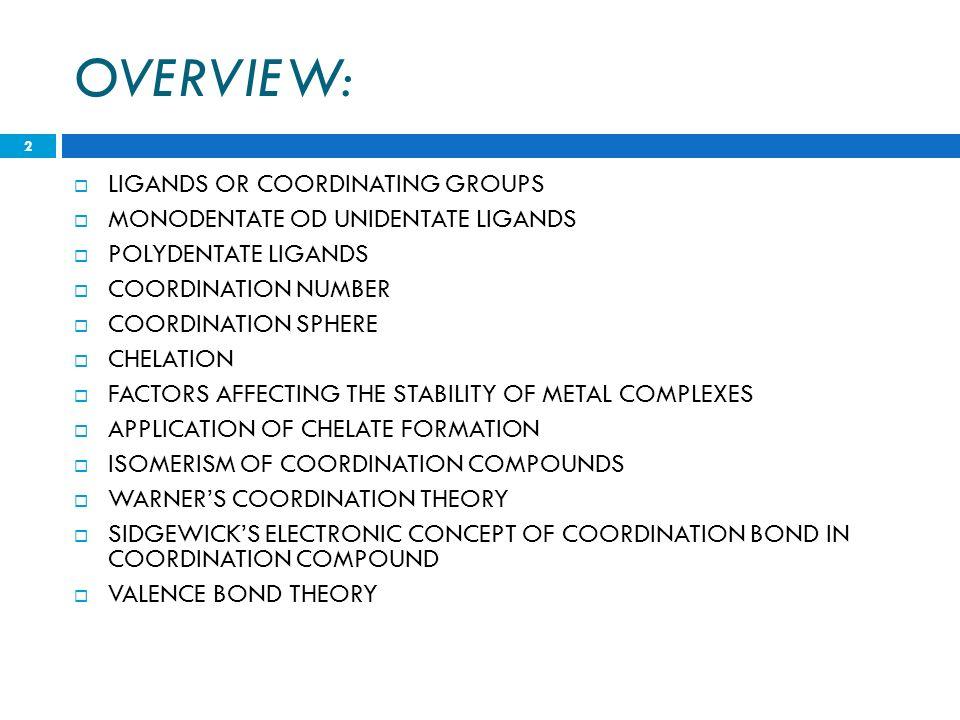 Co-ordinate Compounds - ppt download