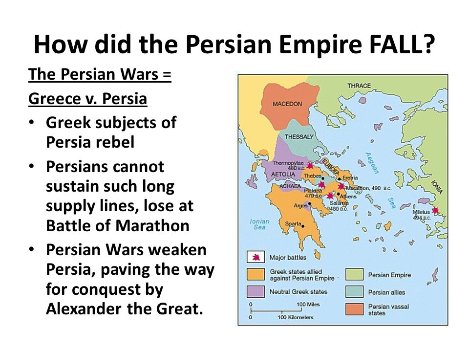 fall of persian empire