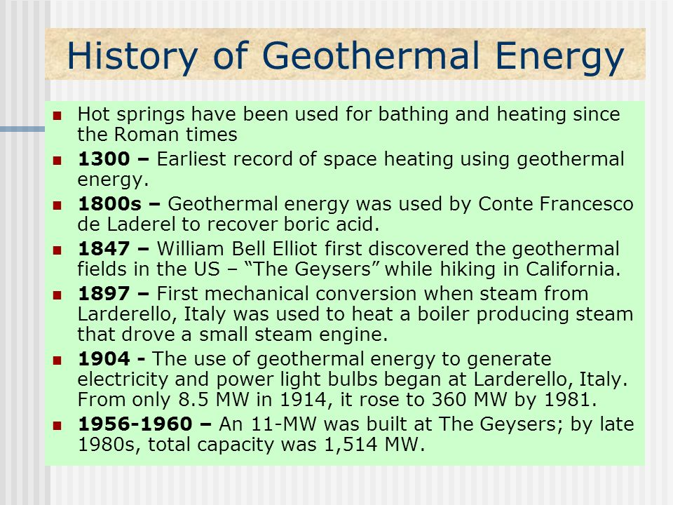 geothermal energy paper