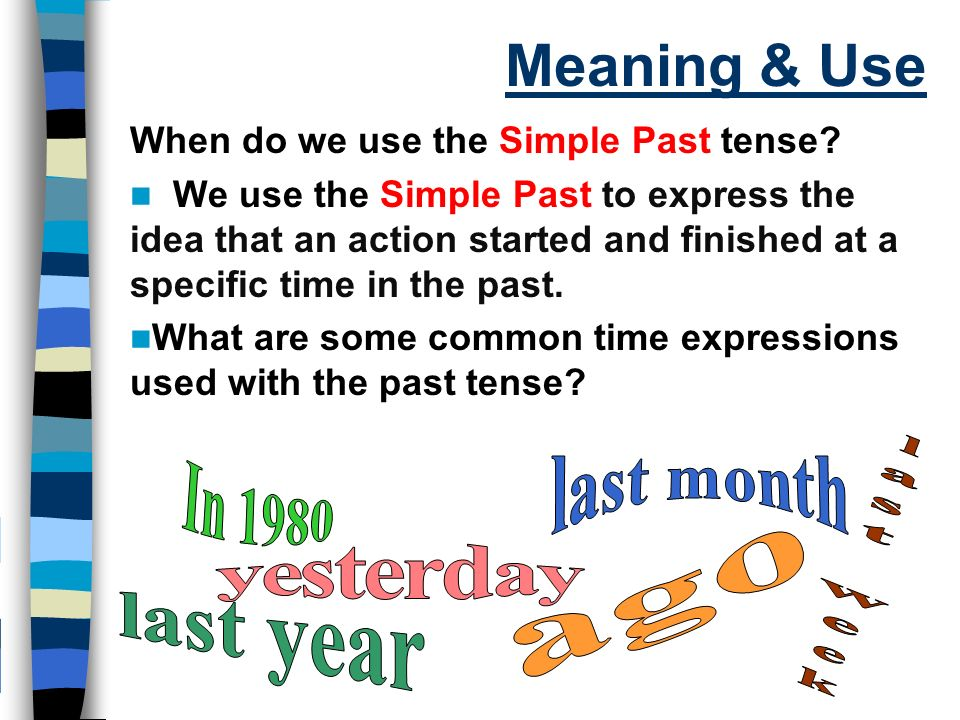 define simple tense