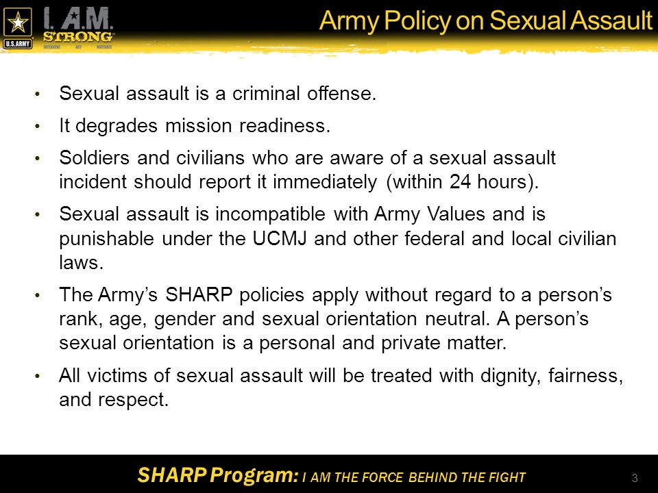 Army sexual harassment sexual orientation