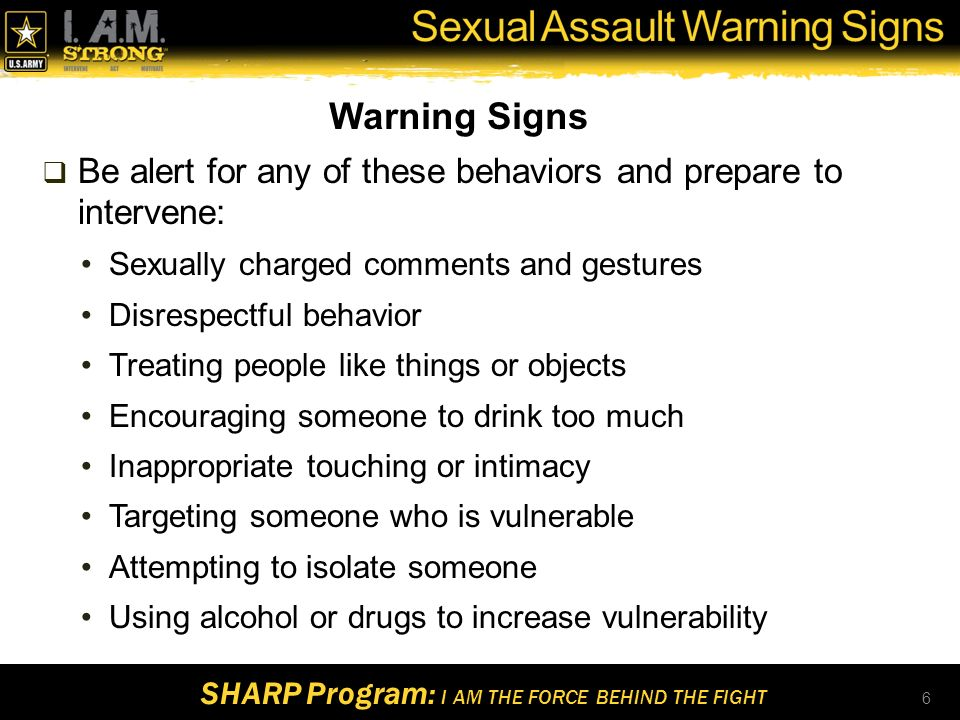 Warning signs of sexual assault images 34