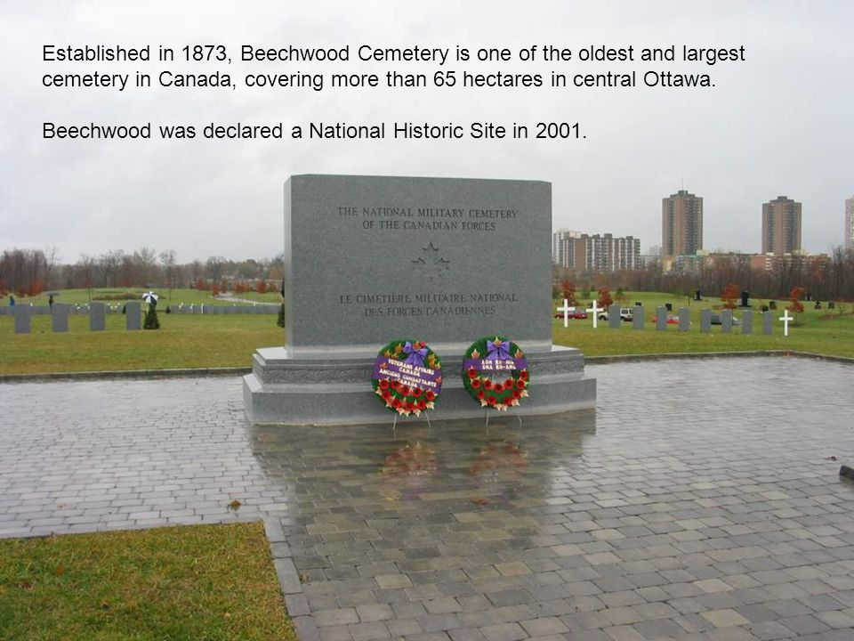 Beechwood was declared a National Historic Site in 2001.