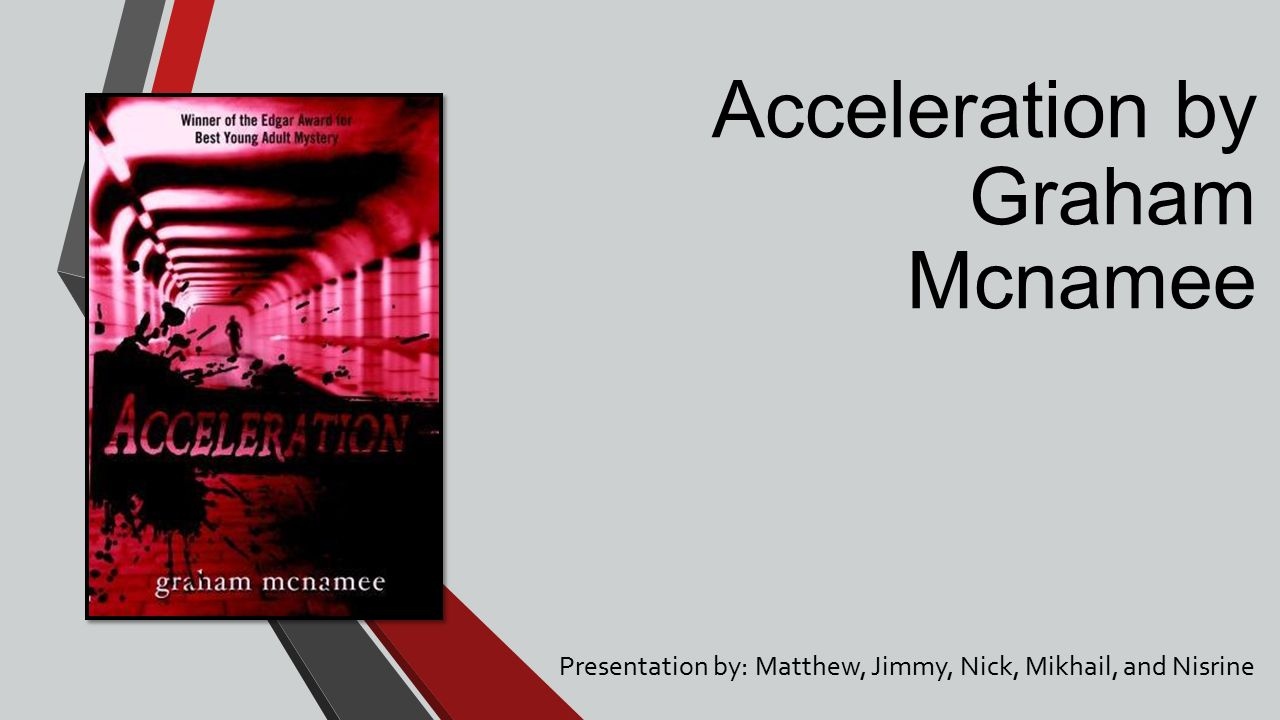 acceleration by graham mcnamee characters