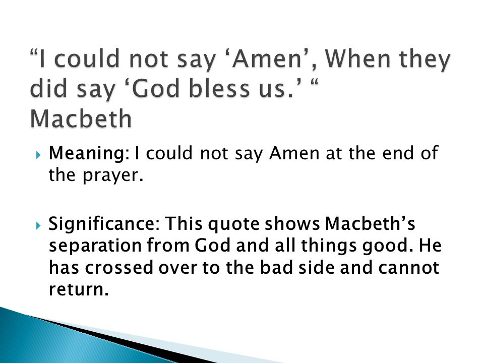 Important Quotes That Shape Macbeth Ppt Video Online Download
