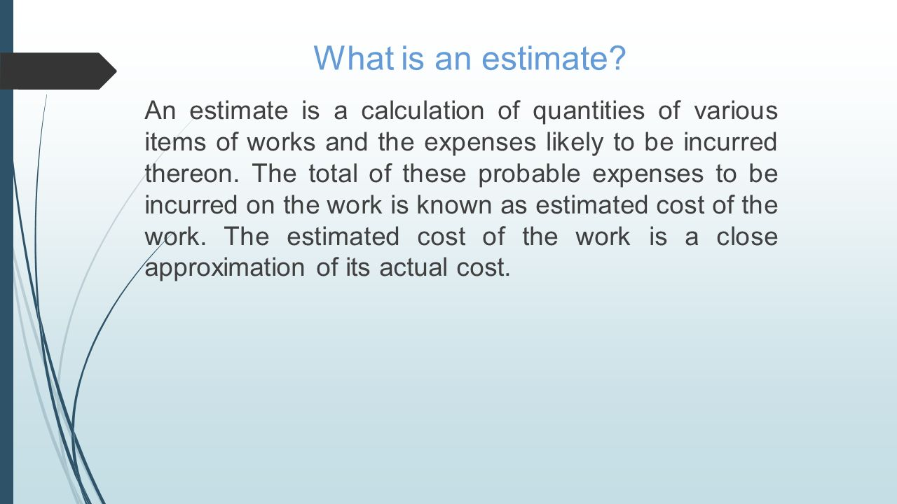 What is the estimate 89