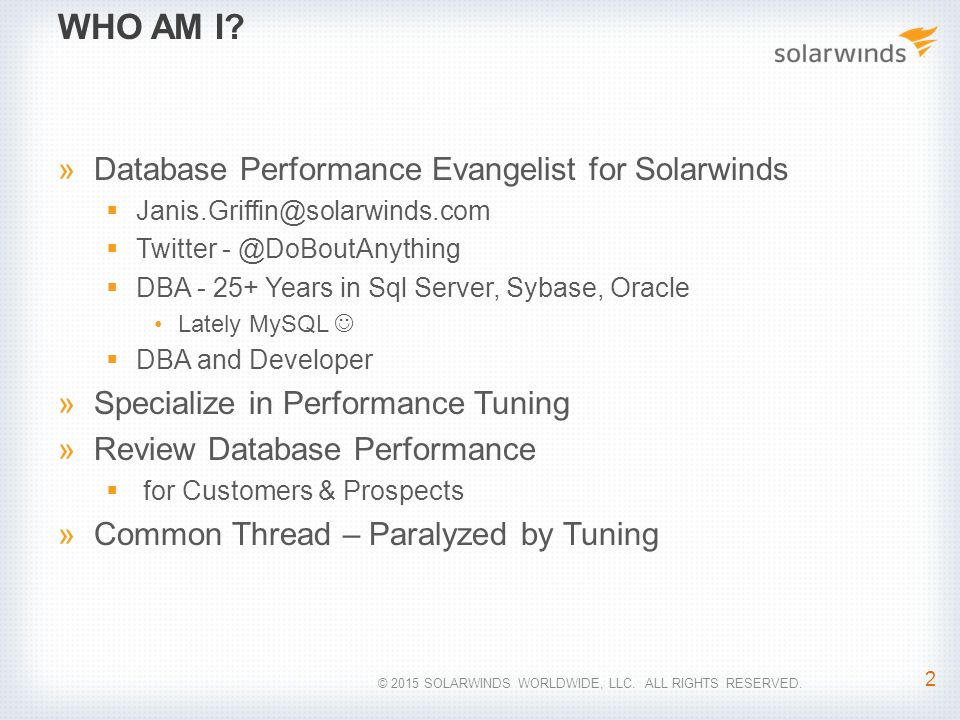 10 SQL Server Wait Types Everyone Should Know - ppt download
