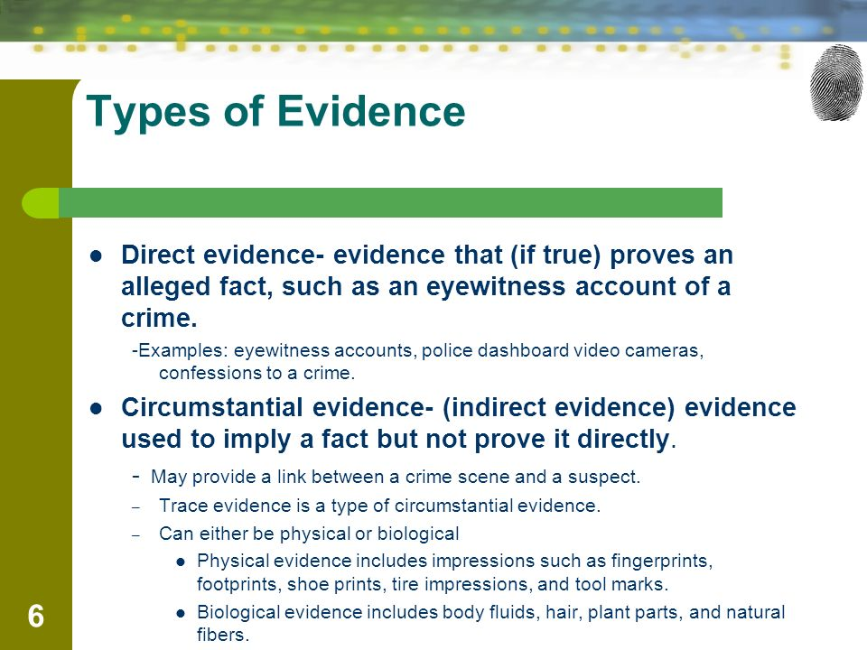 Chapter 2 Crime Scene Investigation And Evidence Collection By The