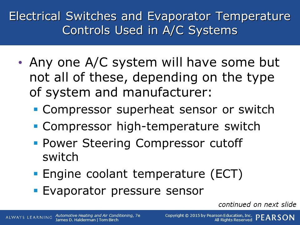 7 A/C System Components, Operation, and Service  - ppt video online