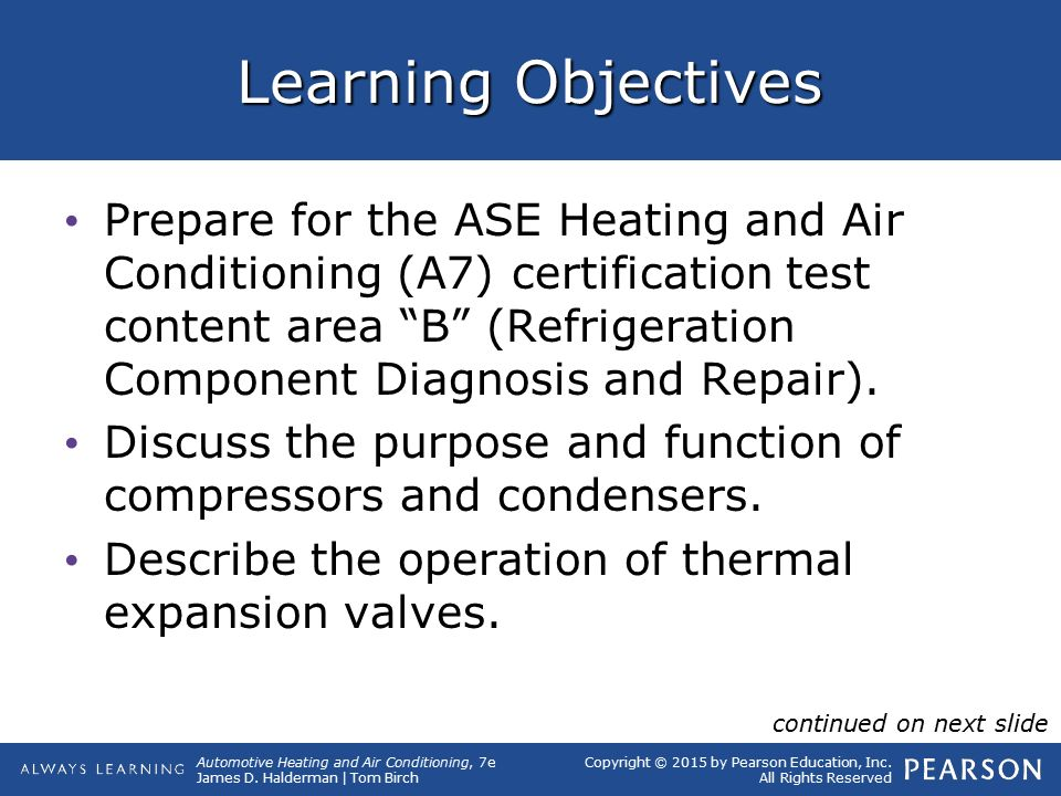 7 Ac System Components Operation And Service Ppt Video Online