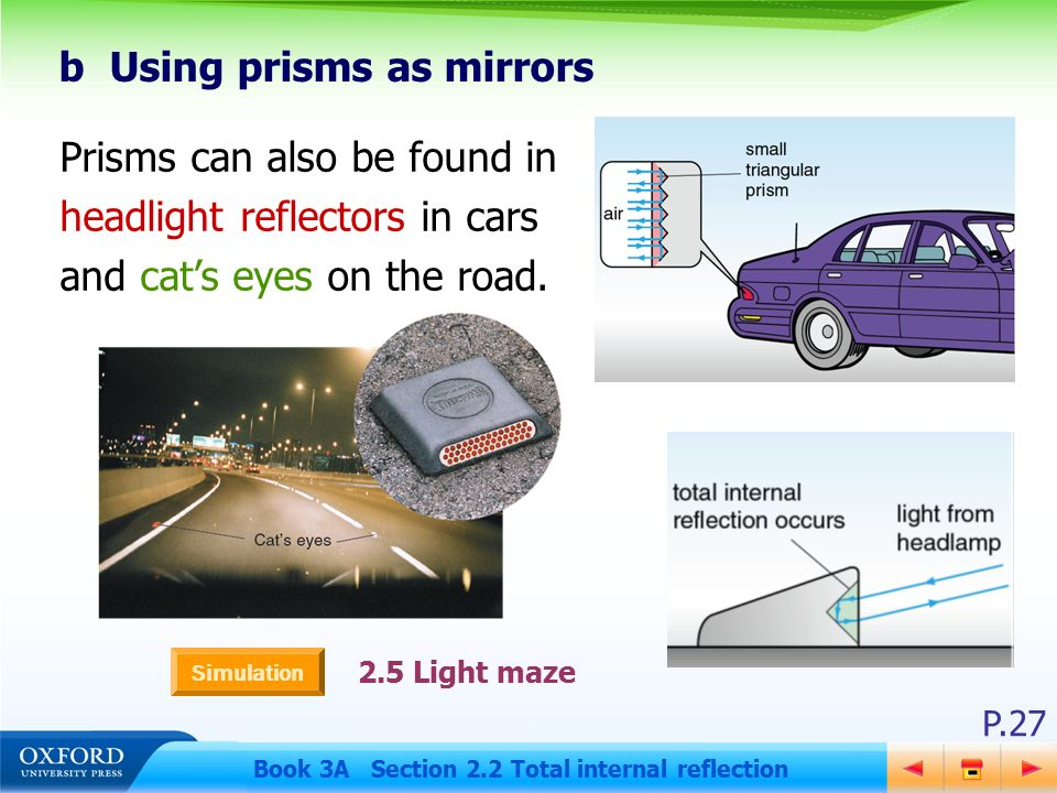 Cats Eye Prism