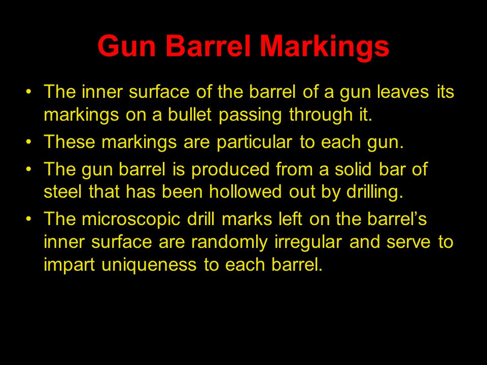 Firearms and Ballistics - ppt video online download