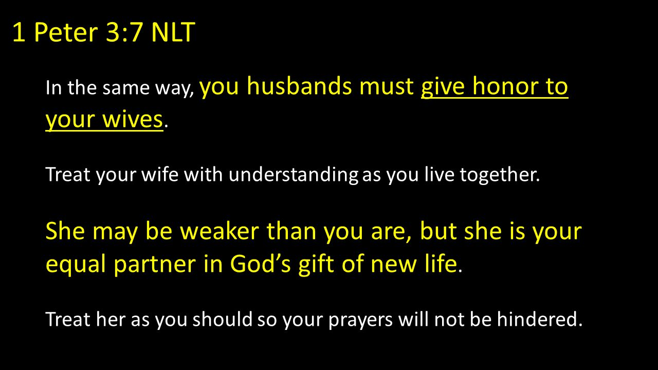 the role of a christian husband ppt download