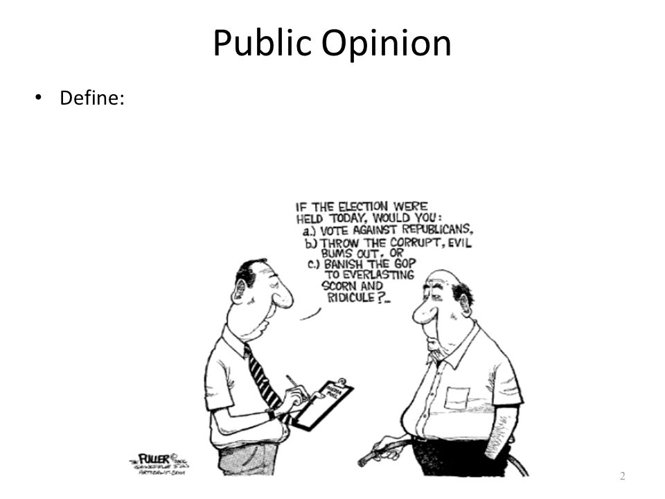 public opinion polling ap government and politics ppt video online  2 public