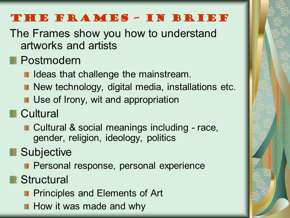 Visual Arts A Guide to the HSC. - ppt video online download