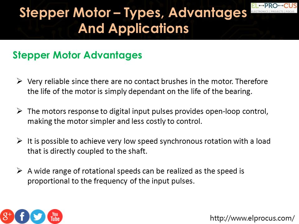 Stepper Motor – Types, Advantages And Applications