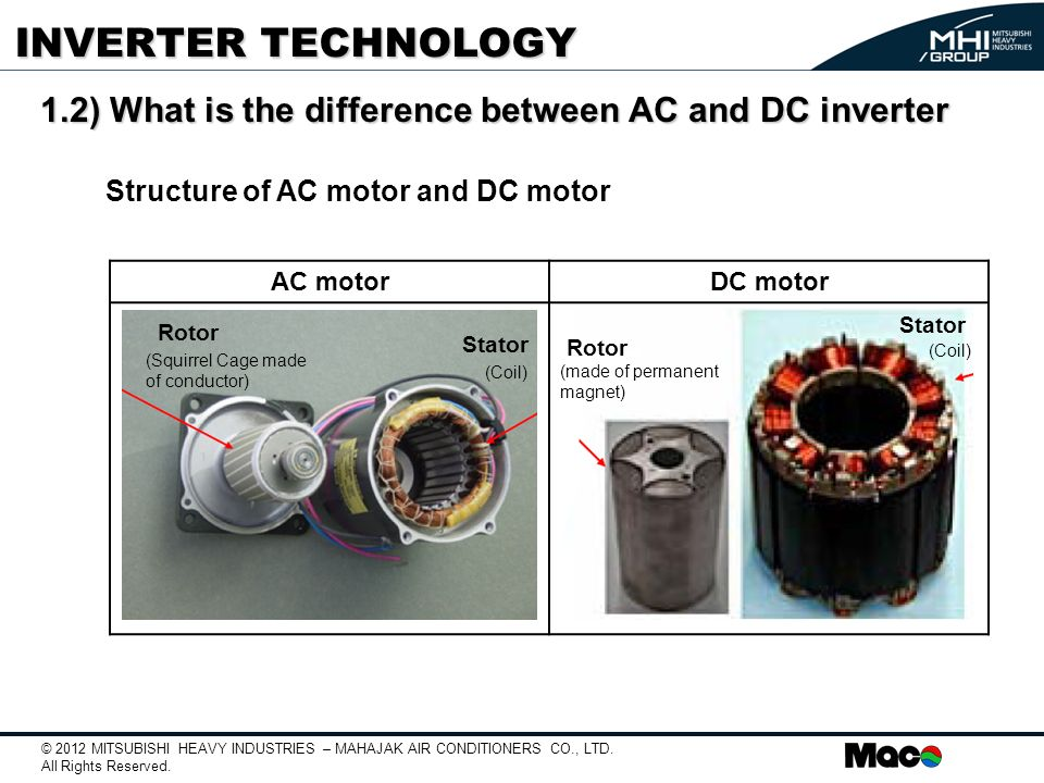 Ac Motor And Dc Motor Difference impremedia net