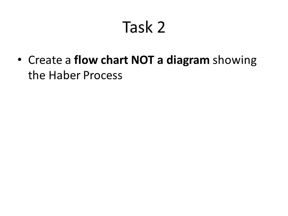 The haber process ppt download 9 task 2 create a flow chart not a diagram showing the haber process ccuart Gallery