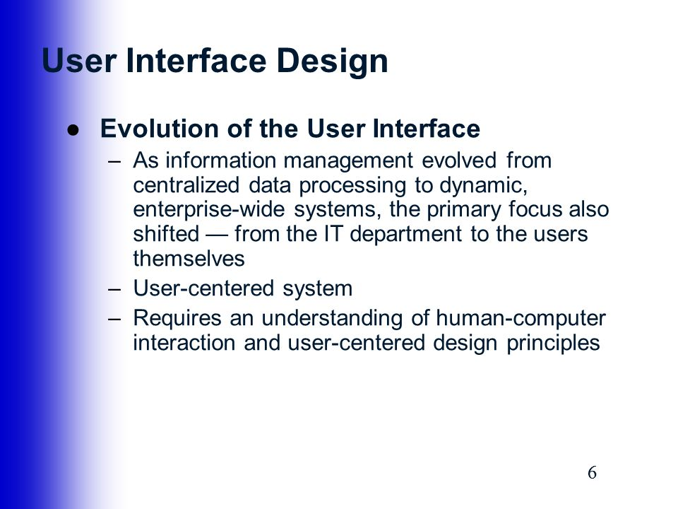 User Interface Input And Output Design Ppt Video Online Download
