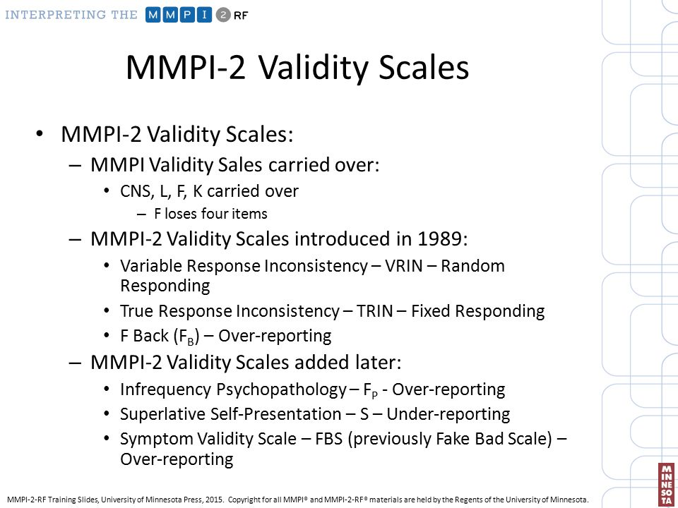Minnesota multiphasic personality inventory—2 in police officer.