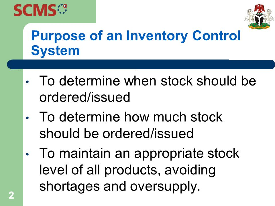 introduction to max min inventory control system ppt download