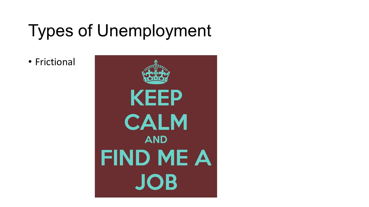 Types of unemployment and causes. Types and forms of unemployment 47